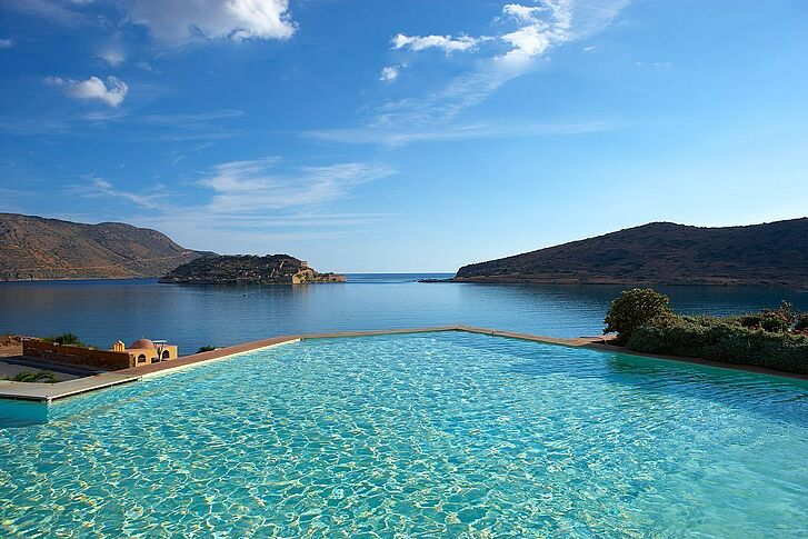 Pool Meer Kreta Domes of Elounda
