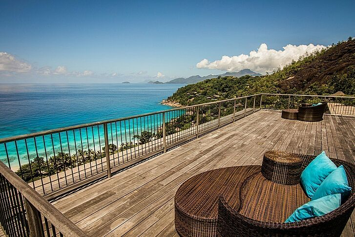 Balkon 2 Four Seasons Resort Seychelles
