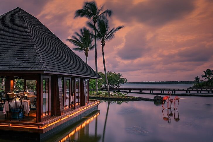 Abend Sonne Four Seasons Resort Mauritius at Anahita