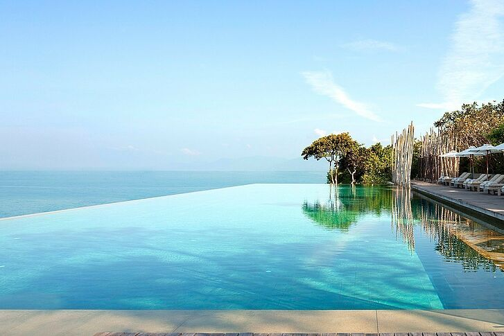 Main Pool Six Senses Samui