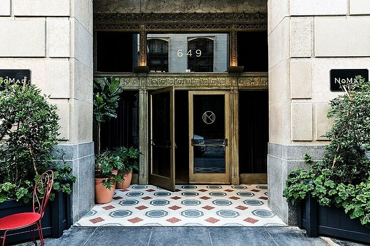 Entrance The NoMad Hotel Los Angeles