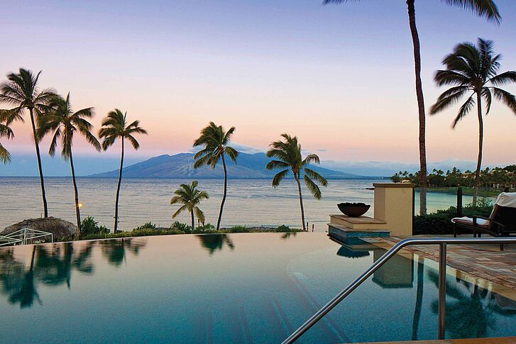 Infinity Pool Four Seasons Maui At Wailea