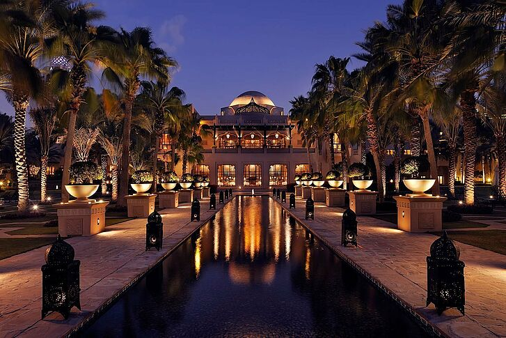Eingang Dubai One&Only Royal Mirage The Palace