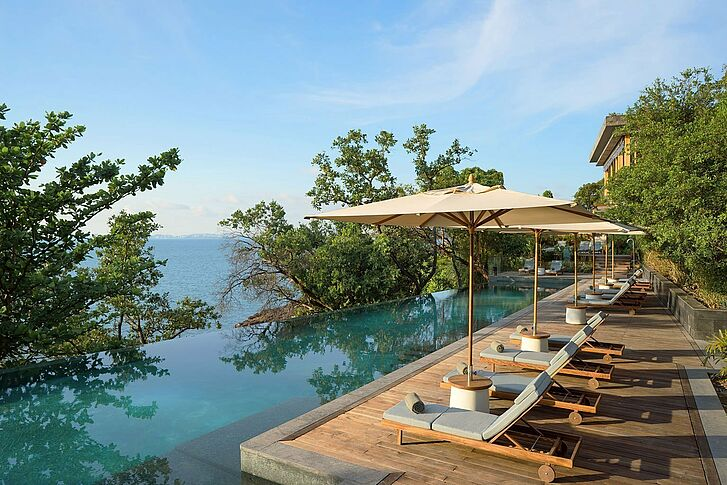 Main Pool Six Senses Krabey Island