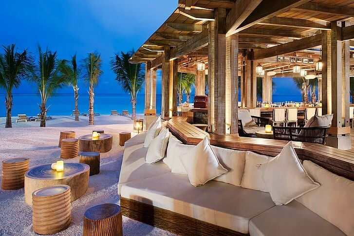 Beach Bar The St. Regis Mauritius Resort