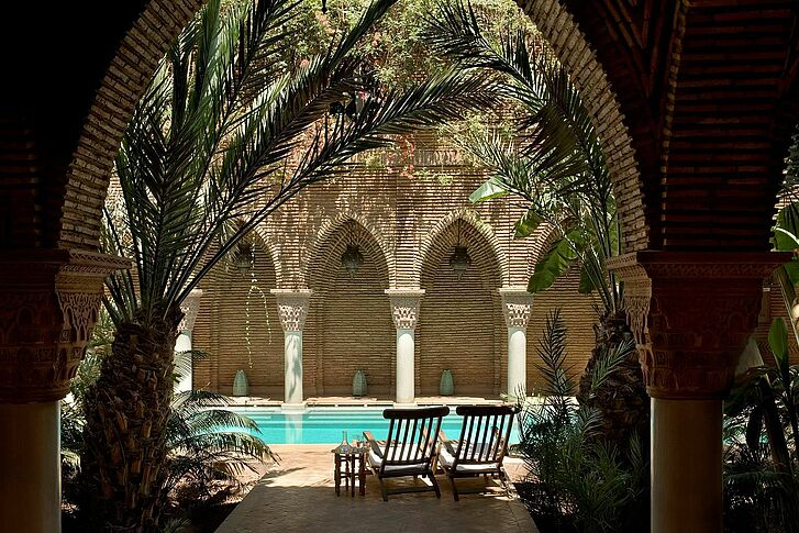 Private Pool La Sultana Marrakech