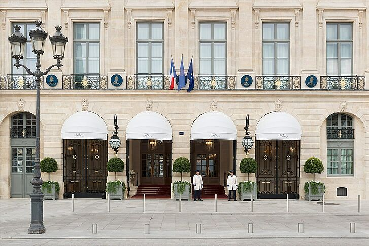 Fassade Ritz Paris