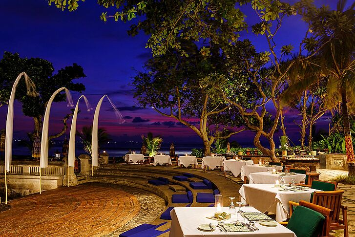Restaurant The Oberoi Beach Resort Bali