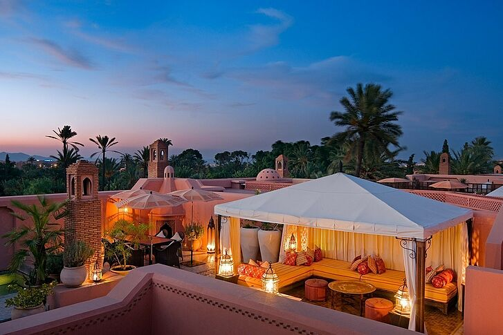 Dach Royal Mansour Marrakesch