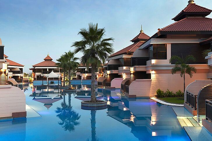 Poolarea Dubai Anantara The Palm Resort & Spa
