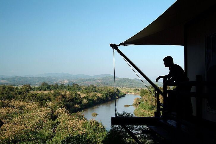 Blick Four Seasons Tented Camp Golden Triangle