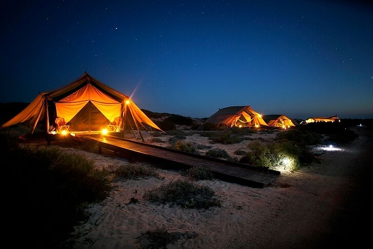 Night Sal Salis Ningaloo Reef Camp