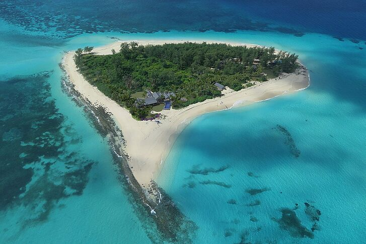 Areal View Thanda Island Villa