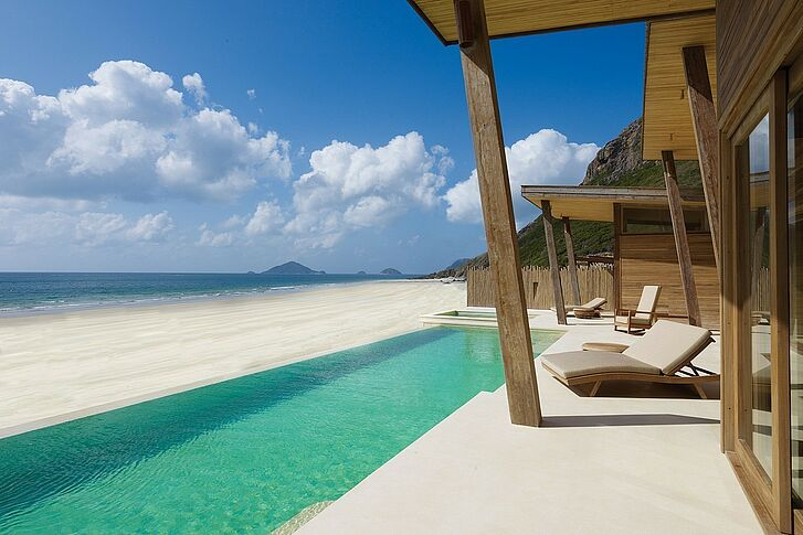Pool Villa Six Senses Con Dao