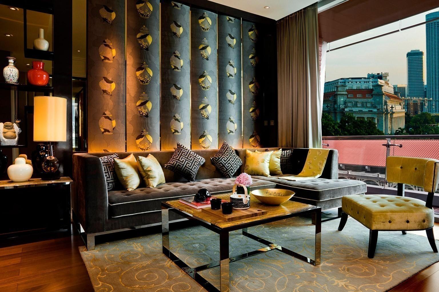 Wohnzimmer The Fullerton Bay Hotel