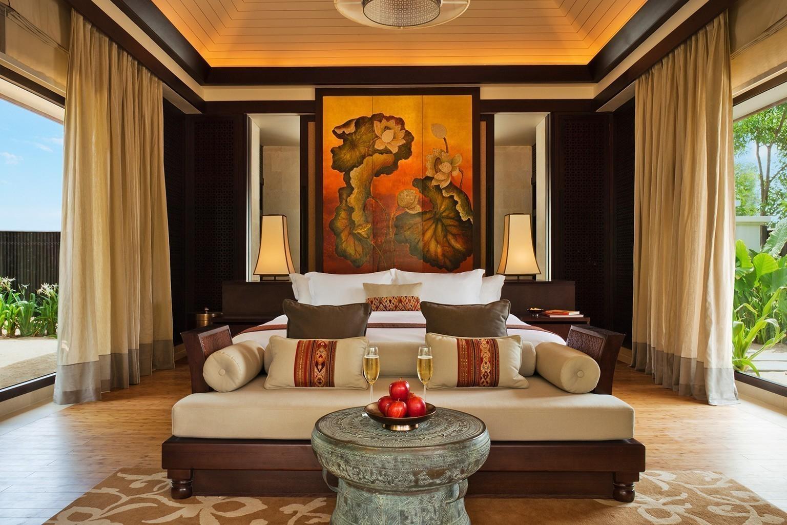 banyan tree lang co   luxushotel bei designreisen, Schlafzimmer