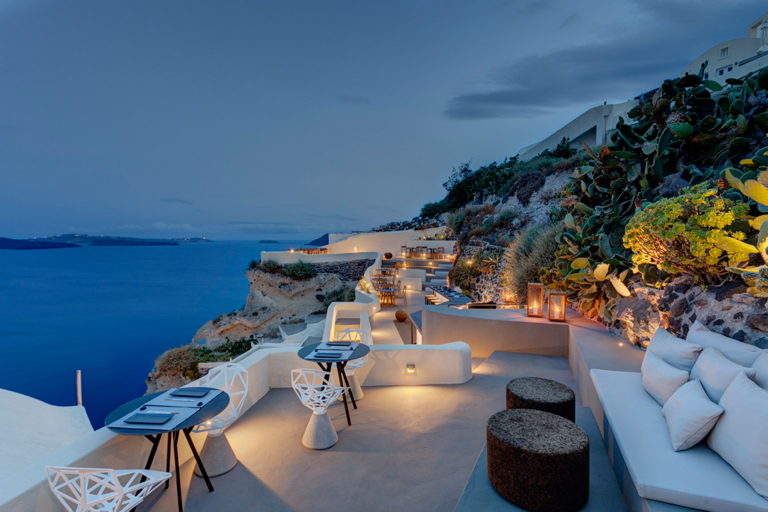 Mystique resort santorin luxushotels bei designreisen for Design hotels griechenland