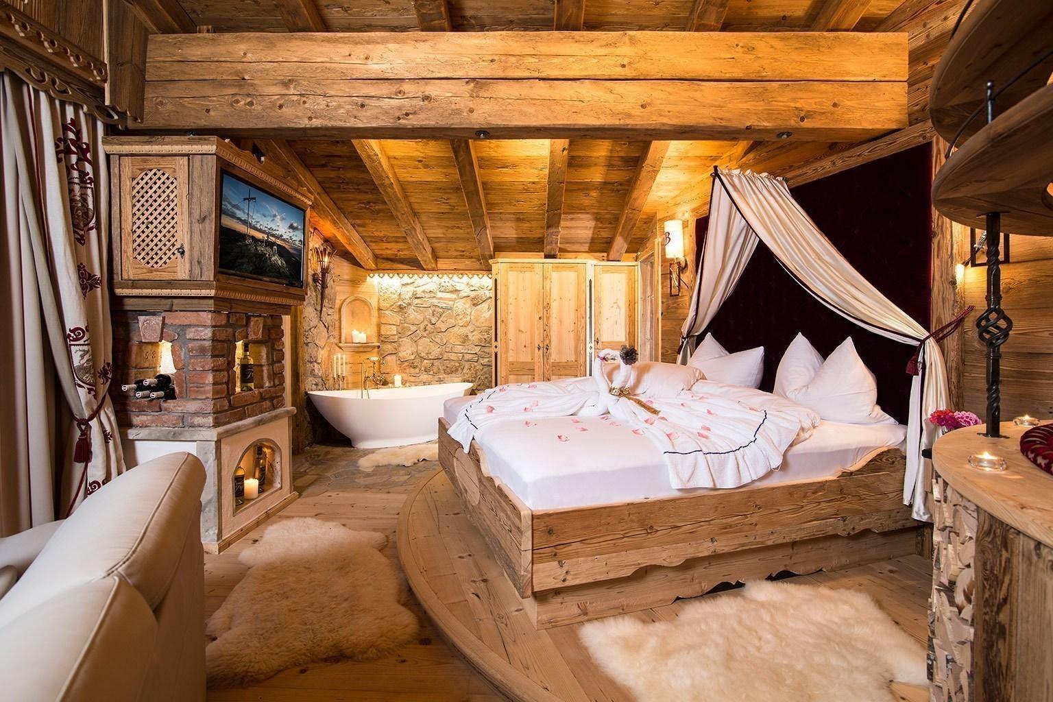 Bett Österreich Alpbach Luxus Chalet Bischofer Alm