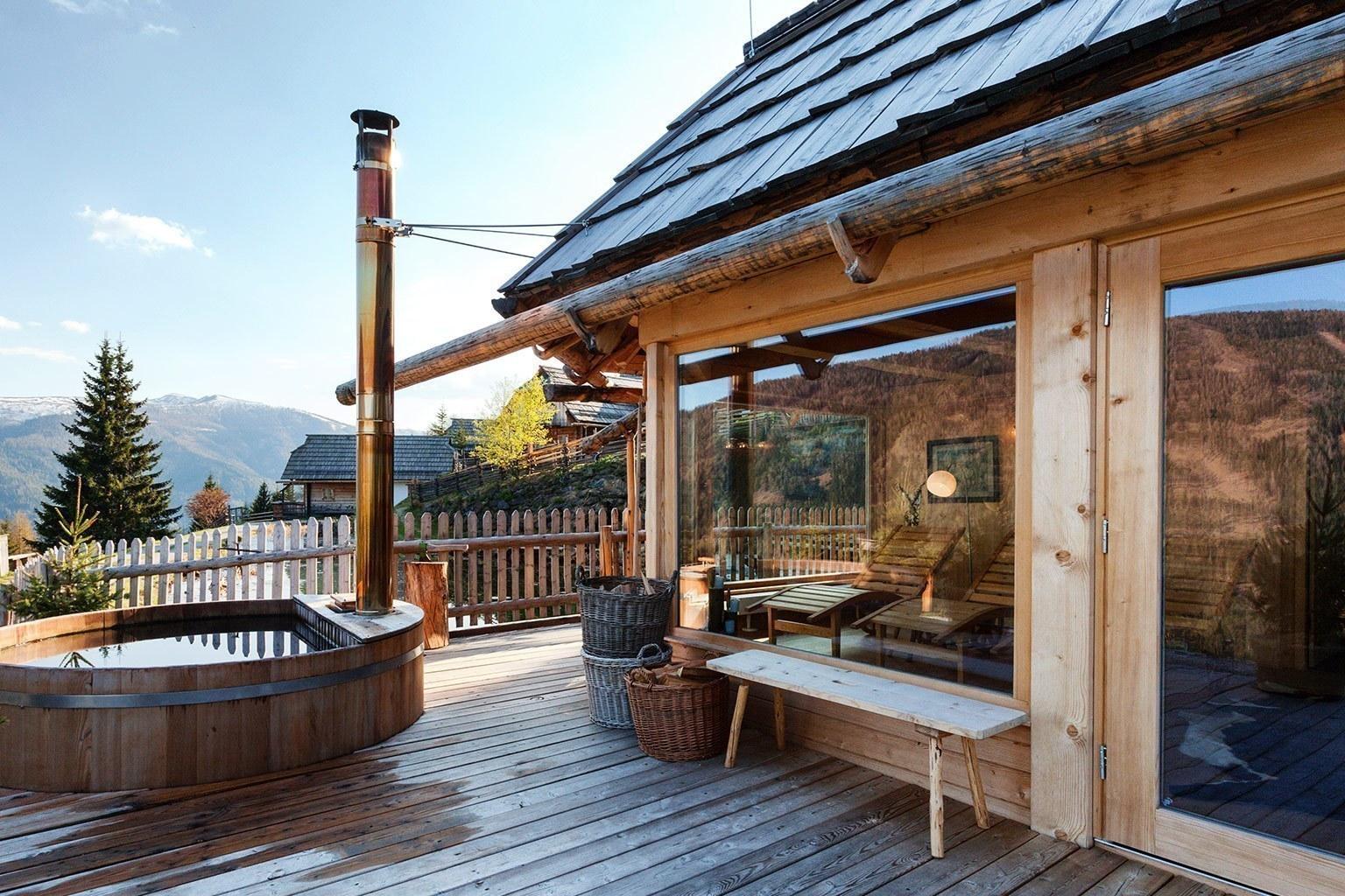 Almdorf seinerzeit luxushotel bei designreisen for Silvester design hotel