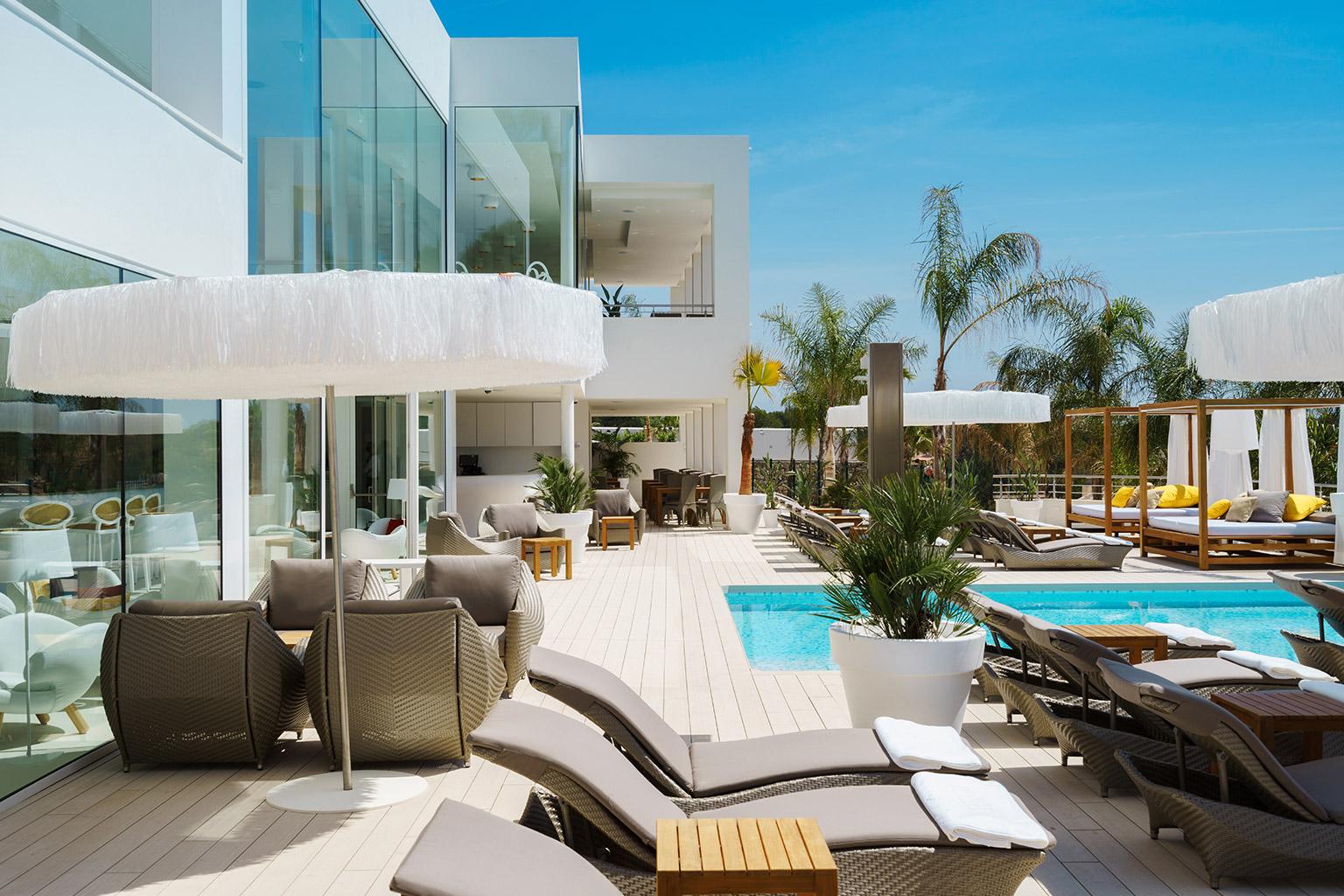 Portal hills boutique hotel designreisen for Mallorca design hotel