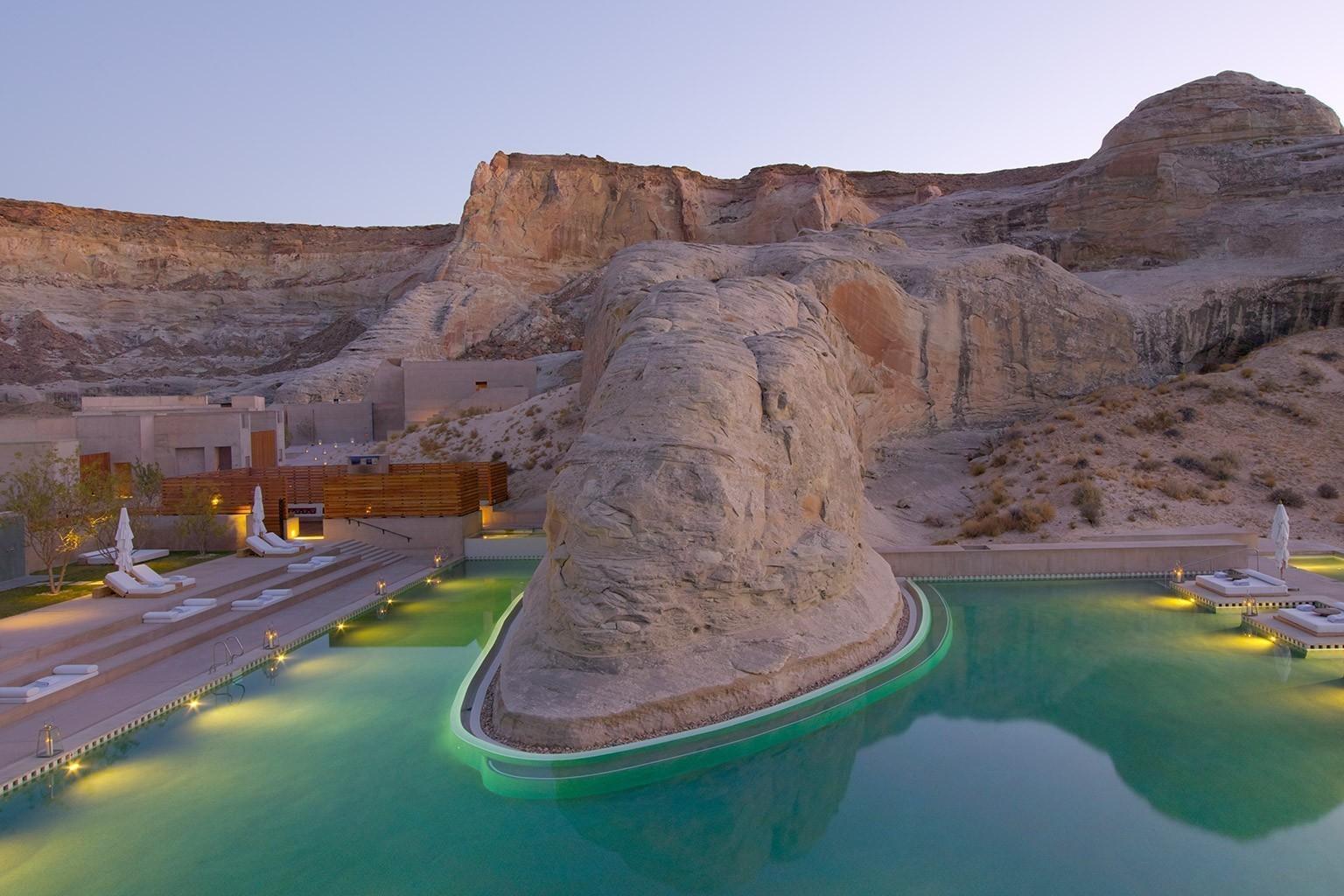 swimming pool design utah amangiri in utah luxushotel bei designreisen