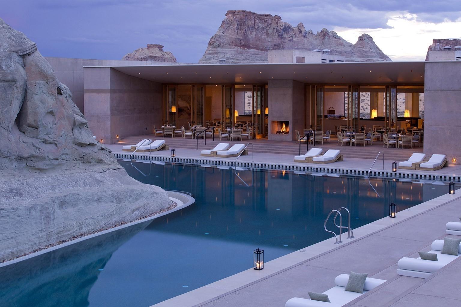 Amangiri in utah luxushotel bei designreisen for Swimming pool design utah