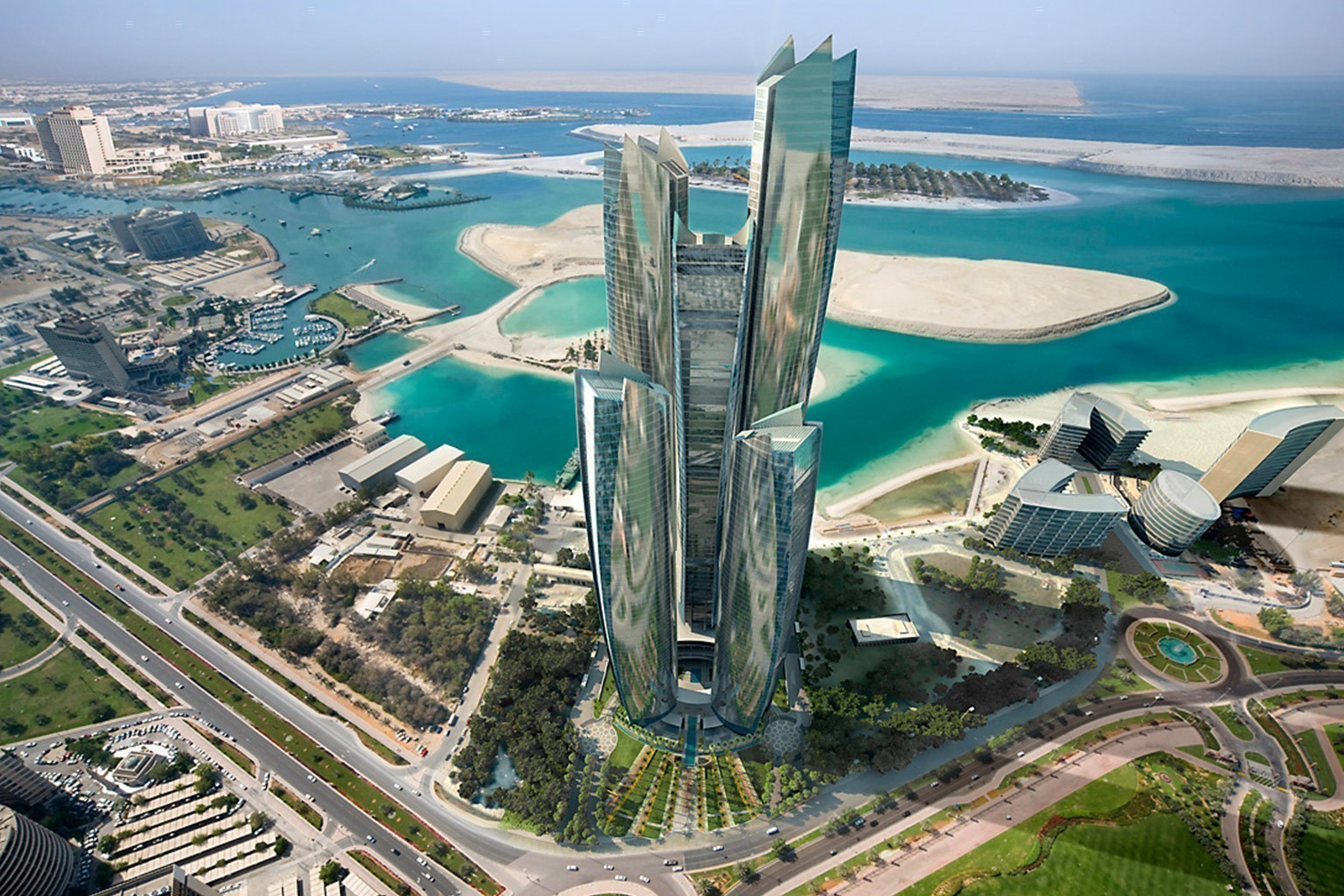 Jumeirah at etihad towers in abu dhabi designreisen for Hispano international decor abu dhabi