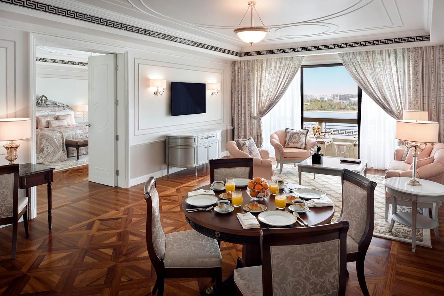 Wohnzimmer Dubai Palazzo Versace