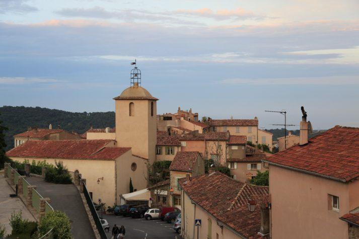 Stadt Ramatuelle Südfrankreich Luxusreisen