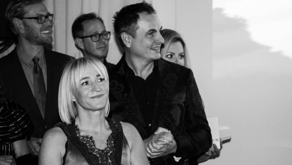 DESIGNREISEN-Gründer Marion und Robert Aliabadi auf dem Store Opening
