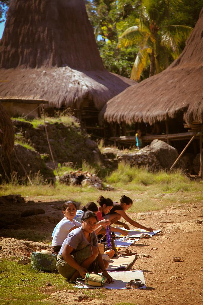 Das so einfache wie malerische Dorfleben