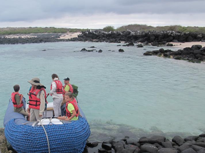 Galapagos-Boot