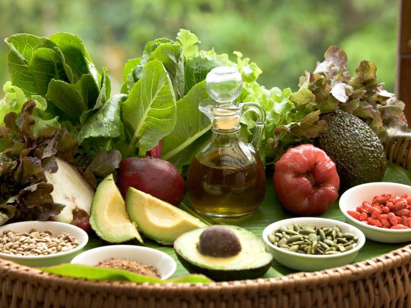 Koh Samui Kamalaya Detox Garden Salad