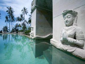 Kamalaya Koh Samui Pool Buddha