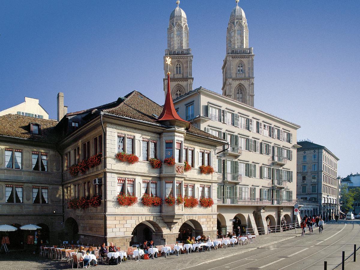Zürich in 24 Stunden Zunfthaus Zimmerleuten