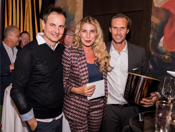 Robert Aliabadi, Giulia Siegel und Tino Schuster