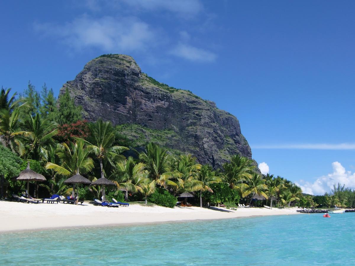 Mauritius mit Kindern - Strand