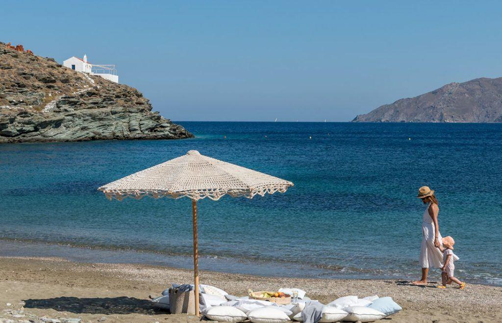 Strand Agios Sostis Mykonos